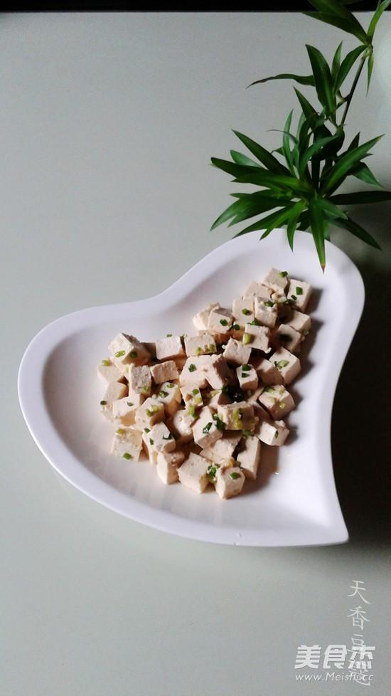 小葱拌豆腐怎么煮