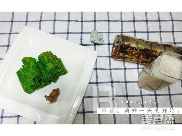 营养早餐之蔬菜鸡蛋饼+五谷豆浆怎么炒