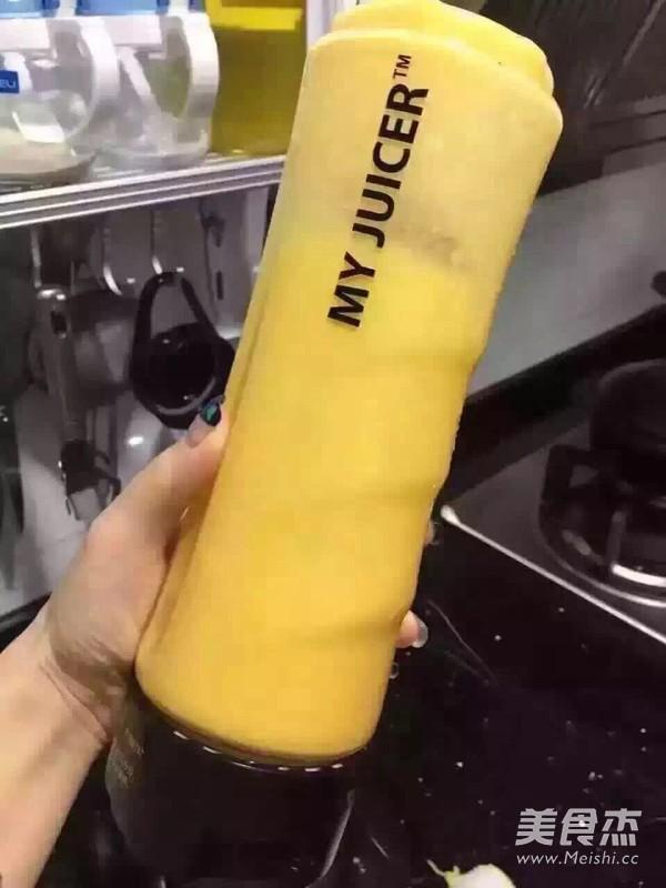 芒果牛奶的家常做法