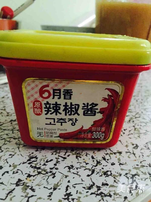 韩国辣炒年糕的家常做法