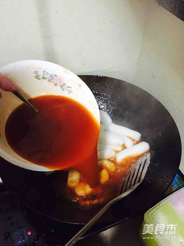 韩国辣炒年糕怎么做