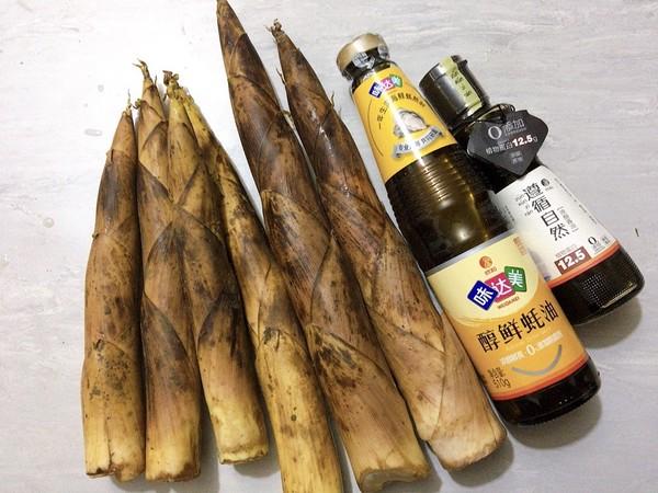 油焖春笋,适时食鲜的步骤