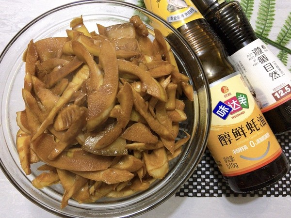 油焖春笋,适时食鲜成品图