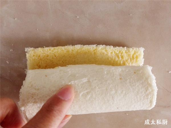 香蕉吐司卷的简单做法
