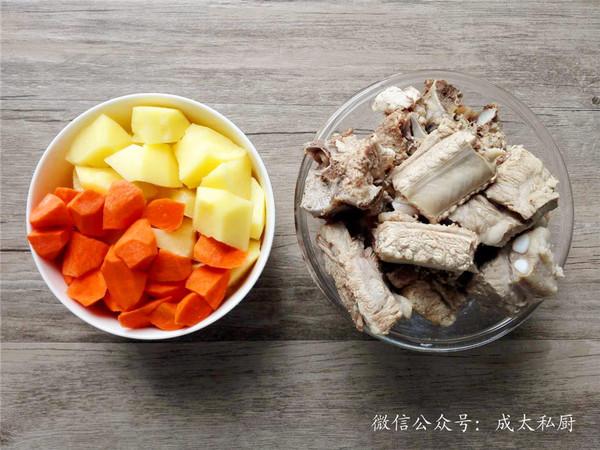 排骨土豆焖饭的做法图解
