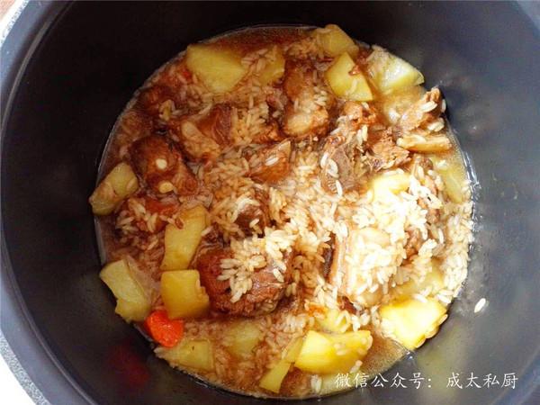 排骨土豆焖饭怎么煮