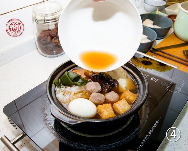 日式关东煮怎么吃