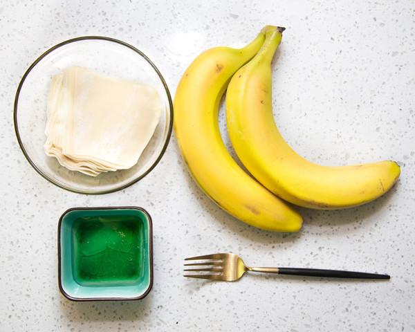 酥脆香蕉派,小朋友的最爱的做法大全