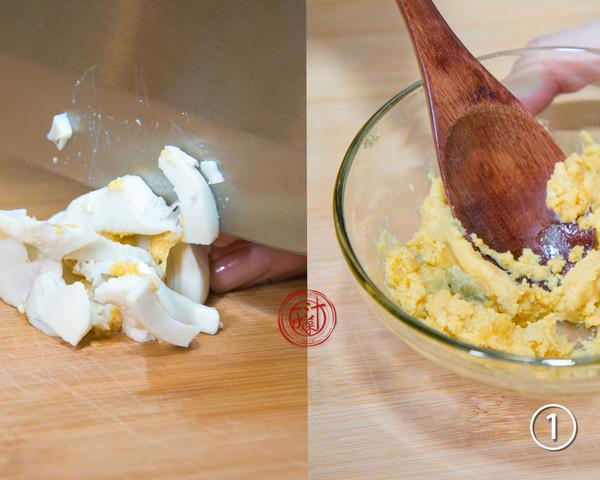 咸蛋黄豆腐的做法图解