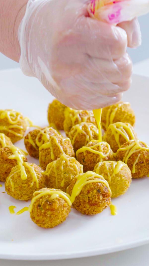 奇香芋艿球怎么做