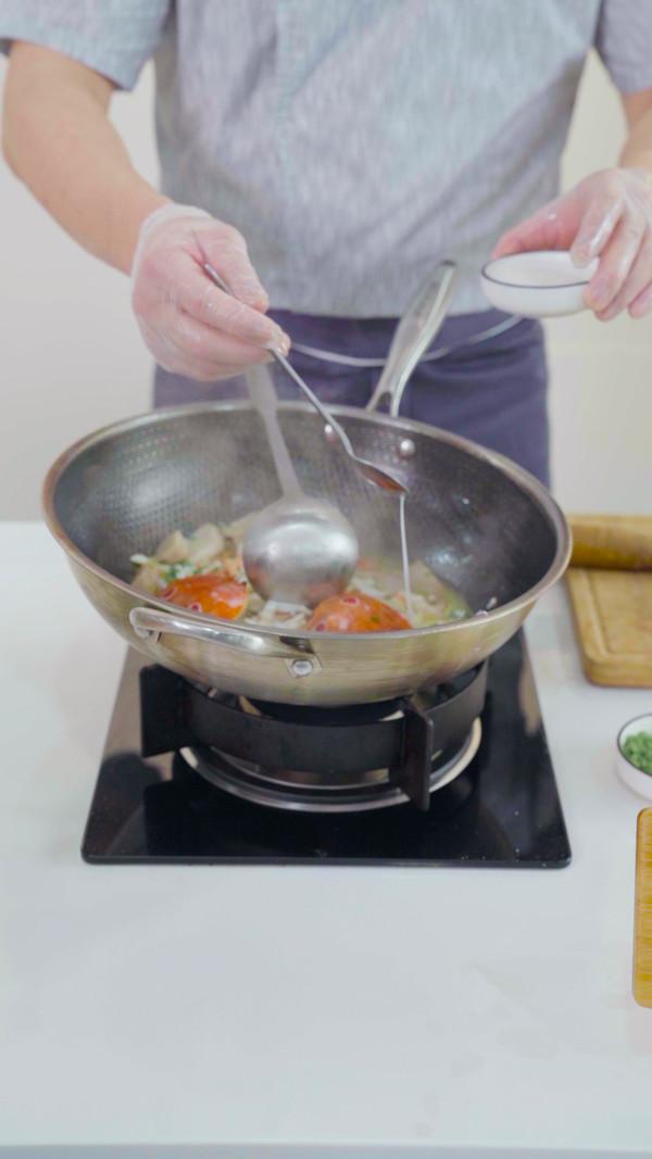 葱油芋艿蟹怎么吃