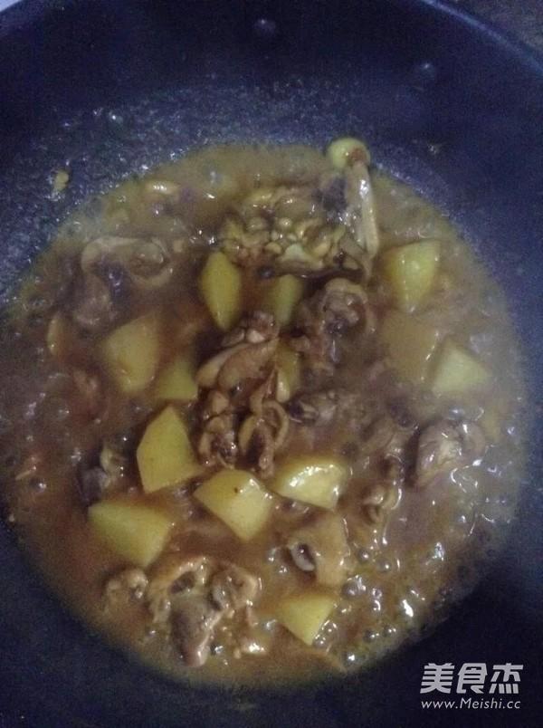 咖喱土豆鸡块怎么煮