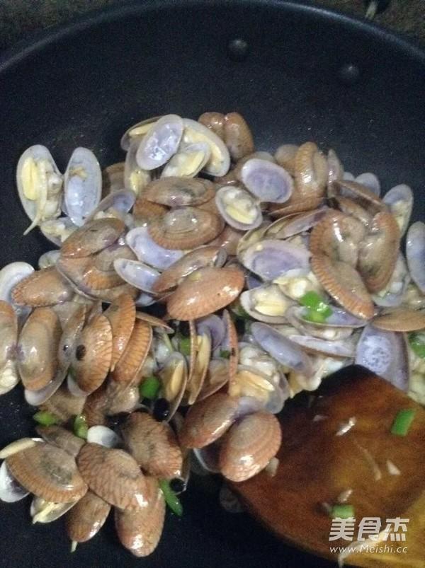 炒花蛤蜊怎么做