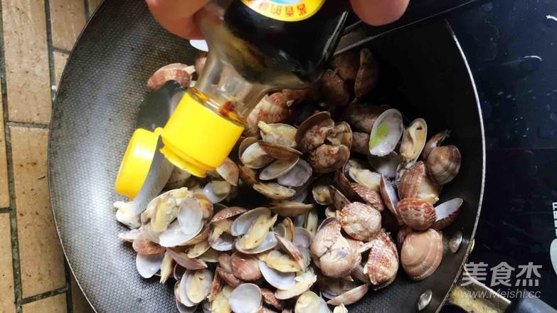 炒蛤蜊怎么吃