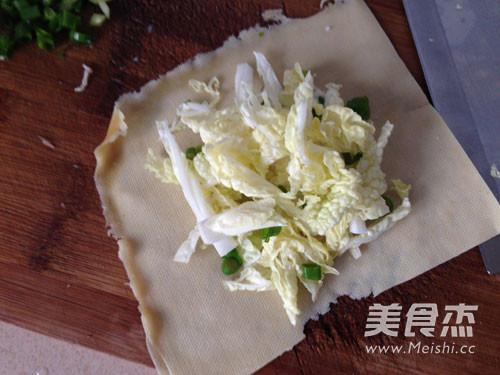 千张白菜卷的简单做法