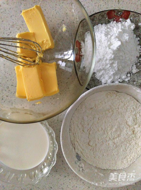 淡奶油曲奇的做法大全