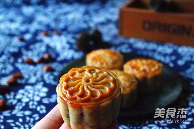 五仁月饼低油低糖版成品图