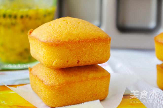 百香果磅蛋糕成品图
