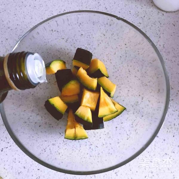 黑椒海盐烤南瓜的家常做法