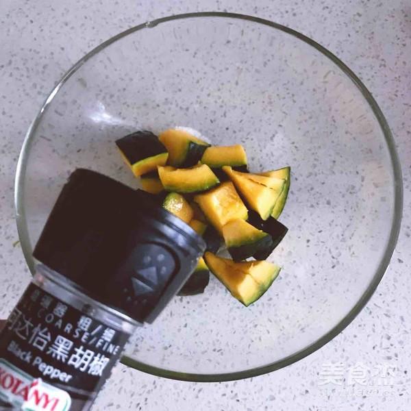 黑椒海盐烤南瓜怎么吃