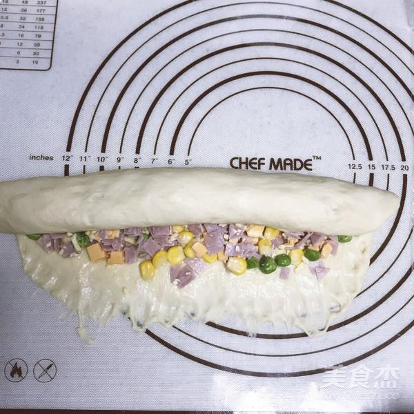 芝士火腿手撕面包怎么煸