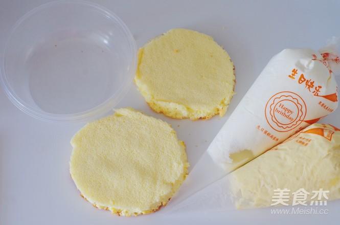 日式豆乳盒子蛋糕怎么做