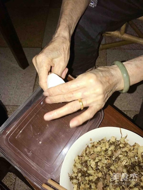 菜包饺怎么吃