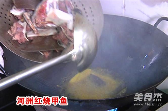 河洲红烧甲鱼的做法图解
