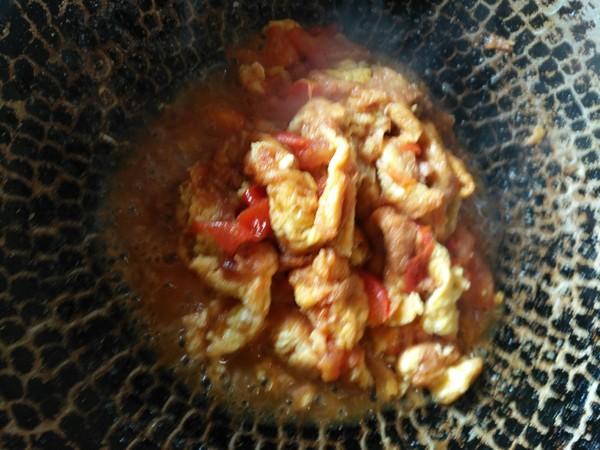 西红柿炒鸡蛋怎么吃
