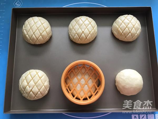 菠萝包的制作