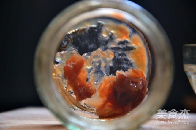 梅子酱油版面的简单做法