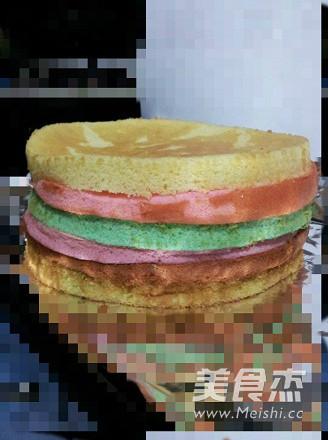 彩虹蛋糕怎么做