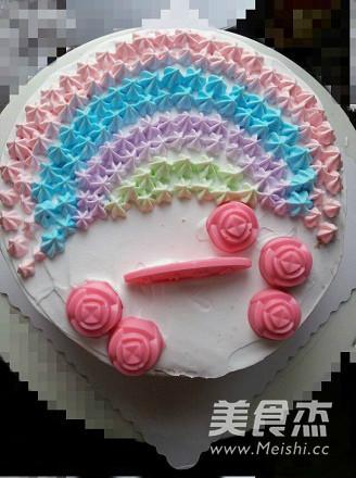 彩虹蛋糕怎么炒