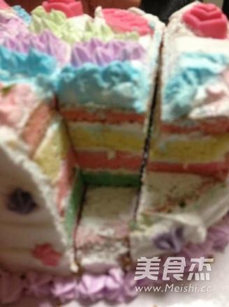 彩虹蛋糕怎么煮