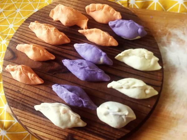 彩色煎饺怎么炒