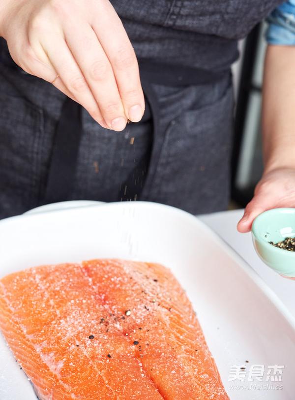 烤三文鱼的做法图解