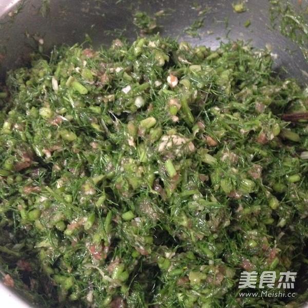 茴香猪肉水饺怎么煸