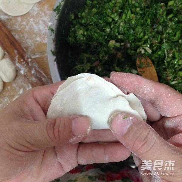 茴香猪肉水饺的制作方法