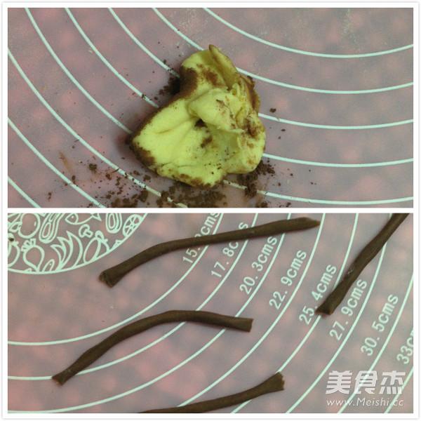 仿真梨--莲蓉包的做法图解