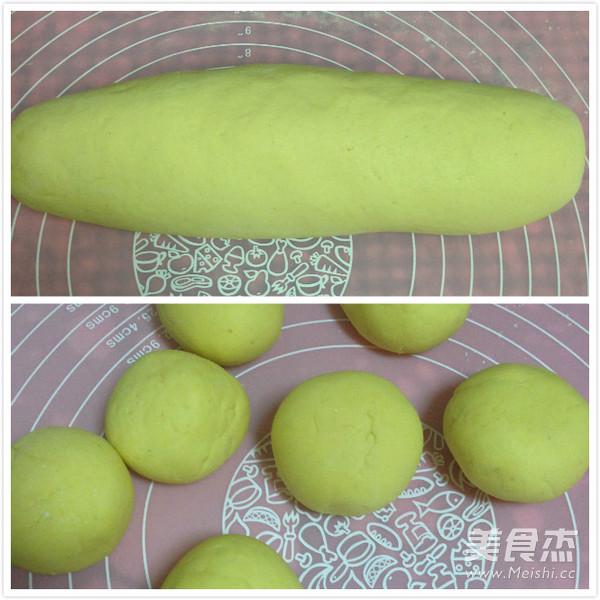仿真梨--莲蓉包的简单做法
