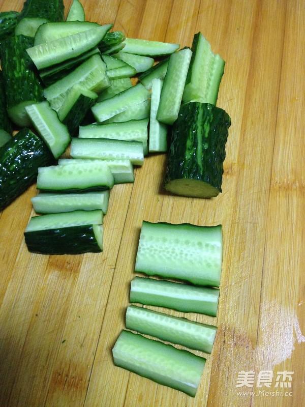 酱豆黄瓜条的简单做法