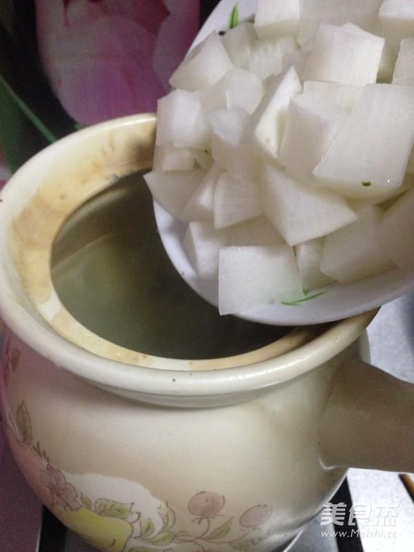 羊排萝卜汤怎样做