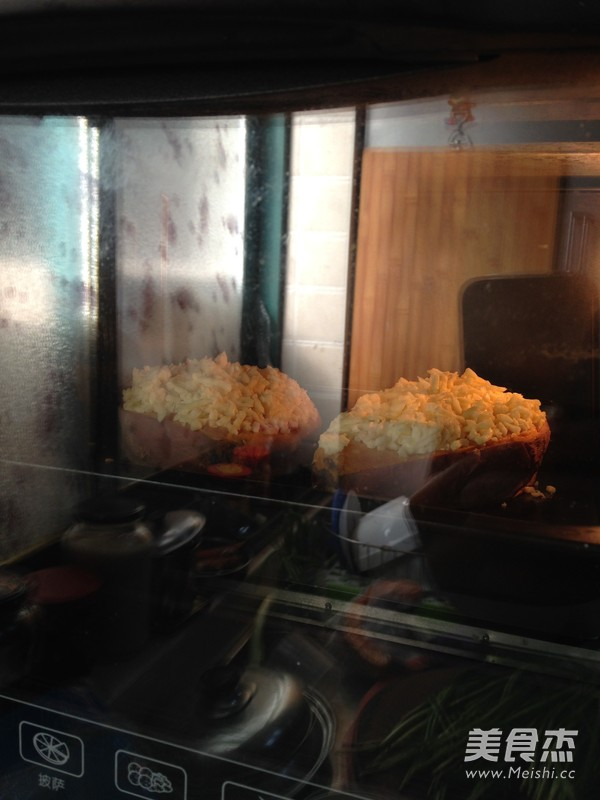 芝士焗红薯怎么炒