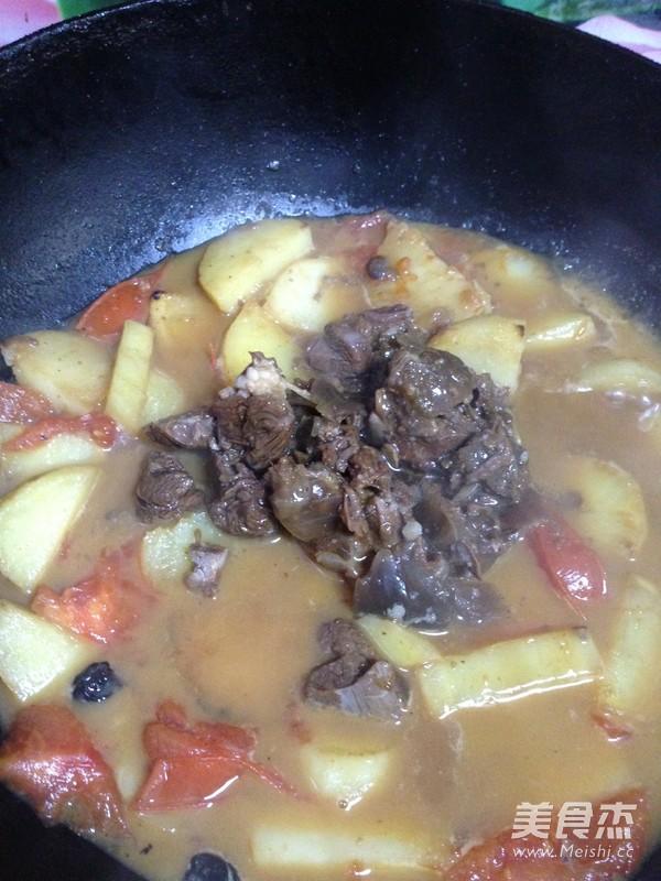土豆烧牛肉的做法大全
