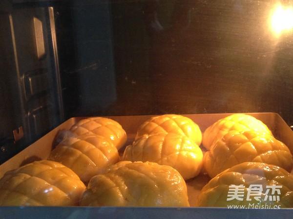 菠萝包的制作方法