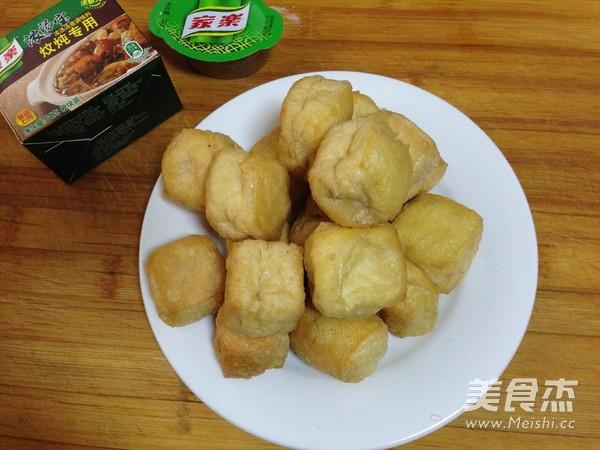 油豆腐塞肉炖白菜的做法大全