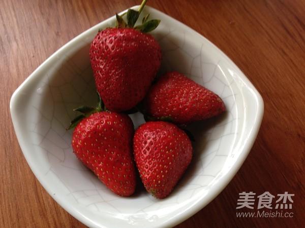草莓西瓜汁的步骤