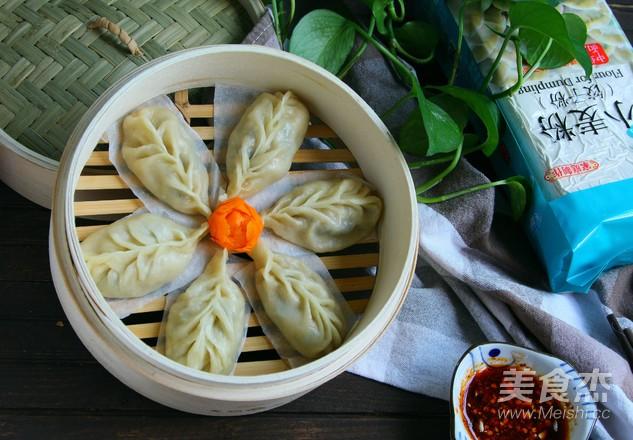 柳叶蒸饺成品图