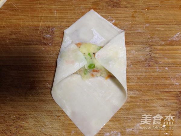 土豆沙拉卷的步骤