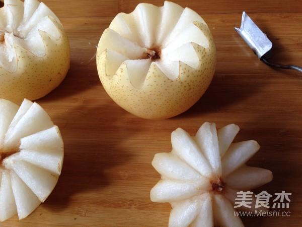 微波烤酥梨的家常做法